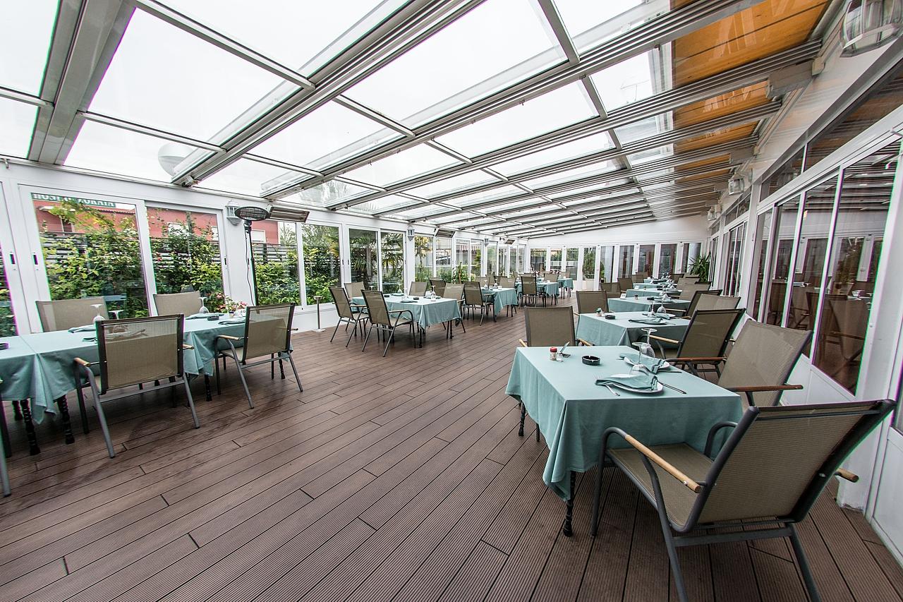 Cenas con baile los 5 pinos restaurante y salones en madrid - Terrazas romanticas madrid ...